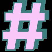 hashtag_B