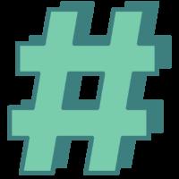 hashtag_C
