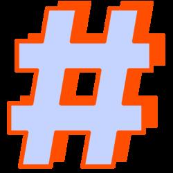 hashtag_D
